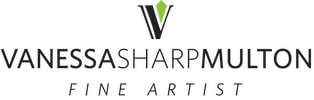 Abstract fine art paintings by Vanessa Sharp Multon, Nashville artist